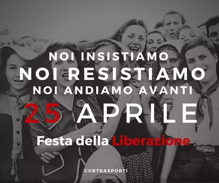 Festa della liberazione Trasporti